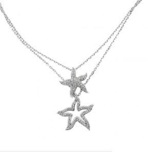Swarovski Starfish necklace